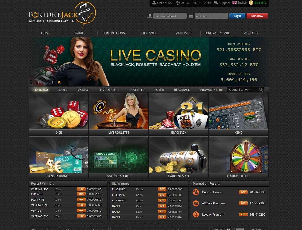 официальный сайт фортуна джек биткоин казино