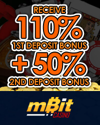 1st Deposit Bonus and 2nd Deposit Bonus